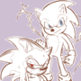 Duality of Hog (+ other Sonic sketches)