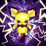 Pichu uses Thundershock by Sayuri-Lilly
