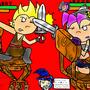 Larry vs Lexie-Trainingof DOOM by PICOSANGELALEX