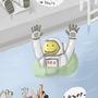 Astronaut Pool Party by Rhunyc