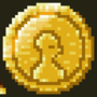 gold coin pixel gif