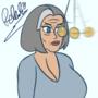 Hypnotized Malory Archer