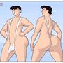 Guy in a Sling Bikini