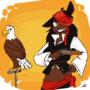DnD headshot : Captain Albatross