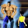Yu Yu Hakusho: Yusuke vs Toguro Screenshot Redraw!