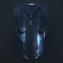 Blue Knight Helmet