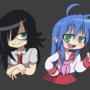 Tomoko & Konata