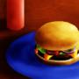 Burger by yumyumshisha
