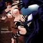 Spider-Woman vs. Venom by ultrafem