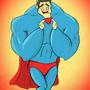 SUPERHERO SHOPPING by MrCreeep