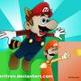 Mario Bros 3 Fan art by ART-TRON