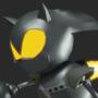 Silver Sonic custom Model