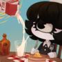 milk and pancake