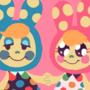 Cute Bunny Sisters