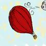 hot airbaloon by Xsjado1221