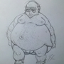 Fat Guy Sketch