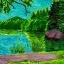 Sharpie Pond by 1600
