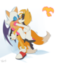 Tails and Rouge NSFW