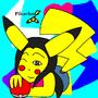 Pikachu by wildpelt4evr