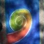 swirlz of chalk by Magicchicken