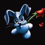 Rose bunny by crtaranto