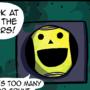A Peaceful Night - Comic Strip