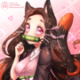 【FanArt】Neko Nezuko-chan~! ▼Speed Paint▼