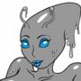 Grey Alien slime chick