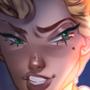 Helga Sinclair screencap redraw