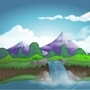 Landscape by Izzy-A