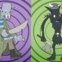 DraculaPirate & VikingWerewolf by ctrlaltd1337