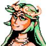 Lady Palutena Pixel Art