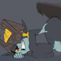 Midna Knotted by Wolf Link Animation