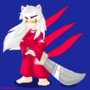 Inuyasha pixel art