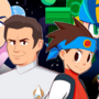 Commission: Star Trek & Mega Man BN