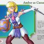 Amber as Cassandra