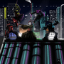 Futuristic Ninja Battle by ChrisDaemon