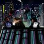 Futuristic Ninja Battle