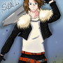 Squall FFVIII by amyrenee