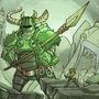 Chibi-Knight: the green knight