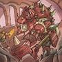 Chibi-Knight: the red knight
