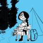 Estella and Faye Go Camping