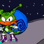 Sammy the Snail (My Sonic OC from June 2018)