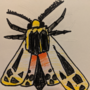 Traditional Art, a Nais Tiger Moth