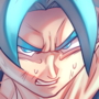 Goku Blue (Redraw Challenge)