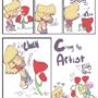 Random assortment of Cinny the Artist