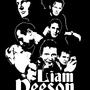 Liam Neeson - Shirt design by Scuzzfest