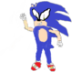 Sonic the Hedgehog 1st ART by ahmed160