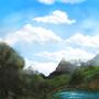 Photoshop Landscape by Izzy-A