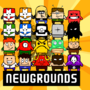 the newground-wall by oldGanon